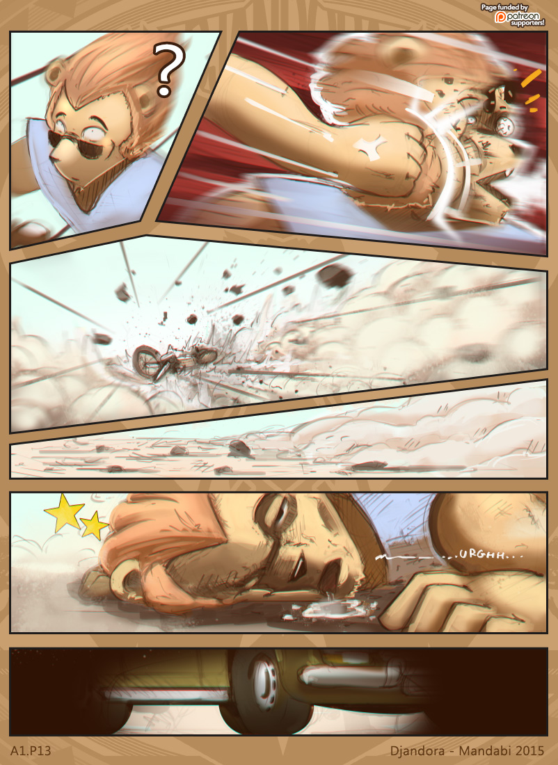 Heavy landing…